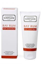 Alexander Simpson Est. 1919 after shave balm Bay Rum 100ml