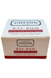 Alexander Simpson Est. 1919 scheercrème Bay Rum 180ml