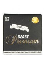 Derby single edge scheermesjes Premium voor shavette scheermes 100 stuks