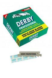 Derby single edge scheermesjes voor shavette scheermes 100 stuks