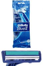 Gillette wegwerp scheermesjes Blue ll 5 stuks