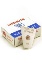Merkur scheermesjes voor snor en baard 10 stuks