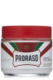 Proraso pre-shave crème voor zware baardgroei 100ml