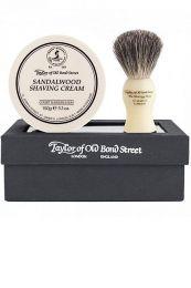 Taylor of Old Bond Str. cadeau scheerset Sandelhout