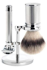 Muhle scheerset Traditional scheerkwast synthetisch haar DE-scheermes