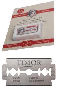 TIMOR double edge scheermesjes 10 stuks