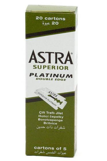 Astra double edge scheermesjes Superior Platinum 100 stuks