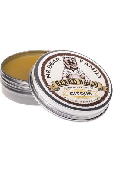 Mr Bear Family baardbalm Citrus 60ml