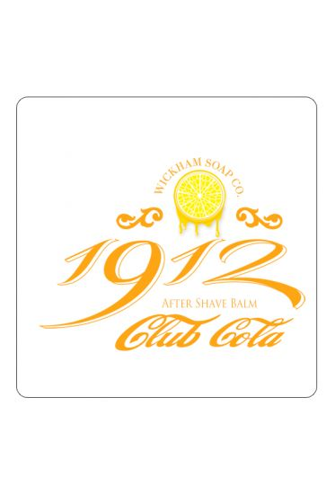 Wickham Soap Co. 1912 after shave balm Club Cola 50gr